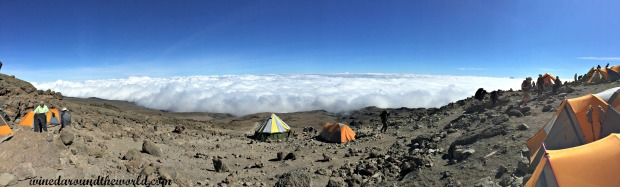 Mt. Kili camp